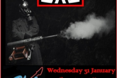 Dull Gas Rock Band Live at Blue Barrel poster