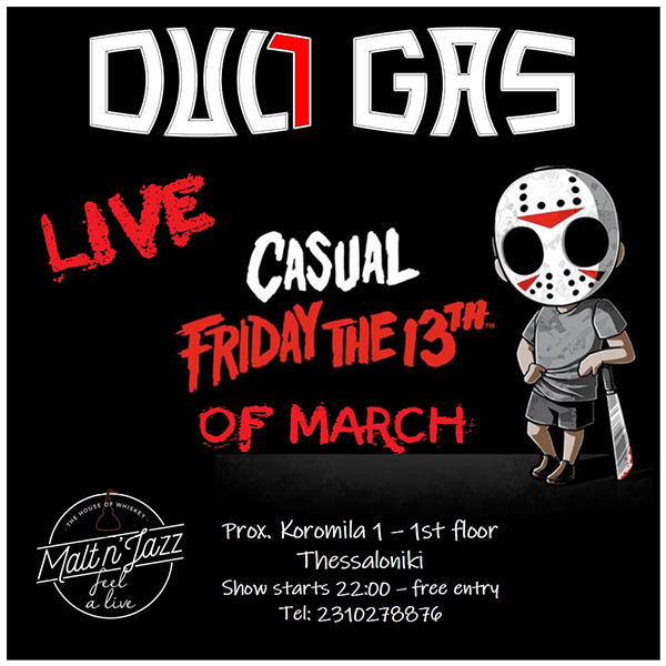 Dull Gas Live at Malt n Jazz on Friday the 13th